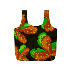 Autumn Leafs Full Print Recycle Bags (s)  by Valentinaart
