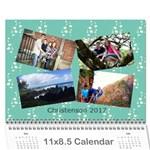 Christenson 2017 - Wall Calendar 11  x 8.5  (12-Months)