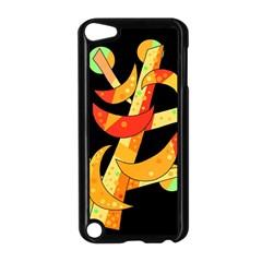 Orange Moon Tree Apple Ipod Touch 5 Case (black)