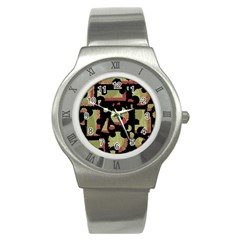 Papyrus  Stainless Steel Watch by Valentinaart