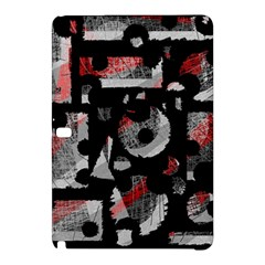 Red Shadows Samsung Galaxy Tab Pro 12 2 Hardshell Case by Valentinaart
