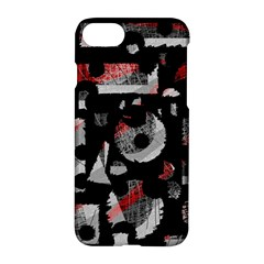 Red Shadows Apple Iphone 7 Hardshell Case