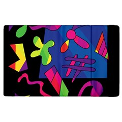 Colorful shapes Apple iPad 3/4 Flip Case by Valentinaart