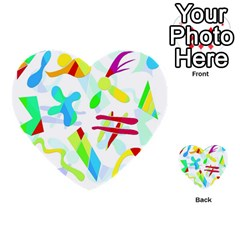 Playful Shapes Multi Purpose Cards (heart)