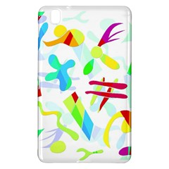 Playful Shapes Samsung Galaxy Tab Pro 8 4 Hardshell Case by Valentinaart