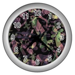 Depression  Wall Clocks (silver)