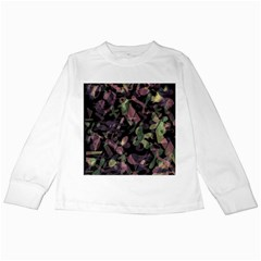 Depression  Kids Long Sleeve T Shirts by Valentinaart