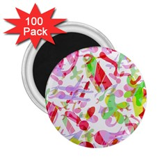 Summer 2 25  Magnets (100 Pack)  by Valentinaart