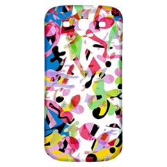 Colorful Pother Samsung Galaxy S3 S Iii Classic Hardshell Back Case by Valentinaart