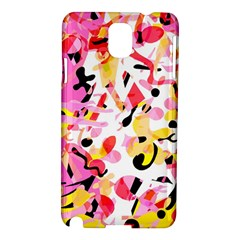 Pink Pother Samsung Galaxy Note 3 N9005 Hardshell Case by Valentinaart