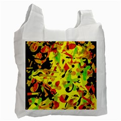 Fire Recycle Bag (two Side)  by Valentinaart