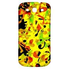 Fire Samsung Galaxy S3 S Iii Classic Hardshell Back Case by Valentinaart