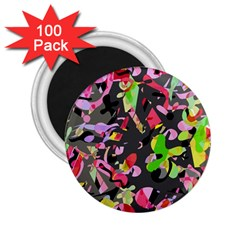 Playful Pother 2 25  Magnets (100 Pack)  by Valentinaart