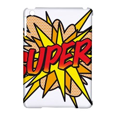 Comic Book Super! Apple Ipad Mini Hardshell Case (compatible With Smart Cover) by ComicBookPOP