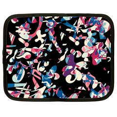 Creative Chaos Netbook Case (large) by Valentinaart