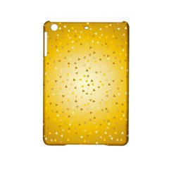 Gold Hearts Pattern Ipad Mini 2 Hardshell Cases by theimagezone