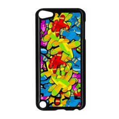 Colorful Airplanes Apple Ipod Touch 5 Case (black) by Valentinaart