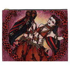 Gemini Tribal Twins Cosmetic Bag (xxxl)  by BubbSnugg