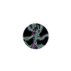 Playful dots 1  Mini Magnets