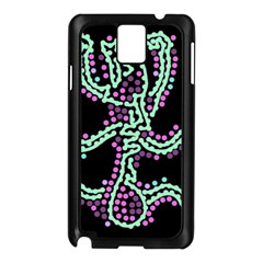 Playful Dots Samsung Galaxy Note 3 N9005 Case (black) by Valentinaart