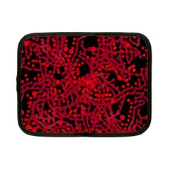 Red Emotion Netbook Case (small)  by Valentinaart