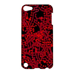 Red Emotion Apple Ipod Touch 5 Hardshell Case by Valentinaart