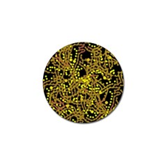 Yellow Emotions Golf Ball Marker (10 Pack) by Valentinaart