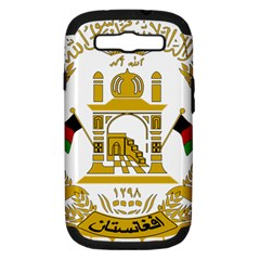 Emblem Of Afghanistan, 2004 2013 Samsung Galaxy S Iii Hardshell Case (pc+silicone) by abbeyz71