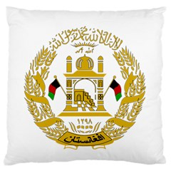 Emblem Of Afghanistan, 2004 2013 Standard Flano Cushion Case (two Sides) by abbeyz71