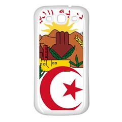 National Seal Of Algeria Samsung Galaxy S3 Back Case (white) by abbeyz71