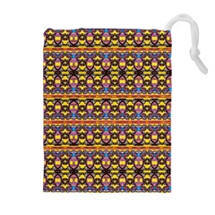 Spirit Of Bulgaria Drawstring Pouches (extra Large) by MRTACPANS