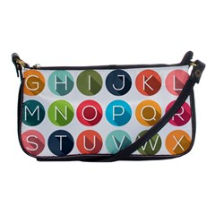 Alphabet Shoulder Clutch Bags by AnjaniArt