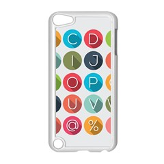 Alphabet Apple Ipod Touch 5 Case (white) by AnjaniArt