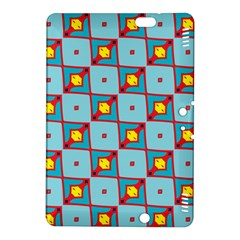 Shapes In Squares Pattern                                                                                                           			kindle Fire Hdx 8 9  Hardshell Case by LalyLauraFLM
