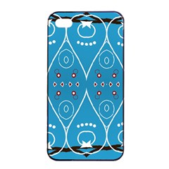 Ornamental Shapes                                                                                                            			apple Iphone 4/4s Seamless Case (black) by LalyLauraFLM