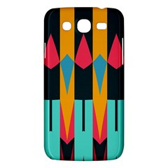 Shapes And Stripes                                                                                                            			samsung Galaxy Mega 5 8 I9152 Hardshell Case by LalyLauraFLM
