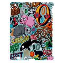 Alphabet Patterns Apple Ipad 3/4 Hardshell Case (compatible With Smart Cover) by AnjaniArt