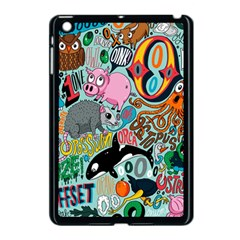 Alphabet Patterns Apple Ipad Mini Case (black) by AnjaniArt