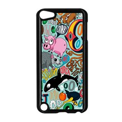 Alphabet Patterns Apple Ipod Touch 5 Case (black) by AnjaniArt