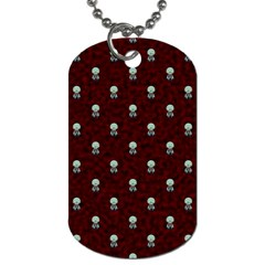 Bloody Cute Zombie Dog Tag (two Sides) by AnjaniArt