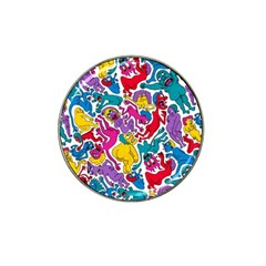 Animation Animated Cartoon Pattern Hat Clip Ball Marker (10 Pack) by AnjaniArt