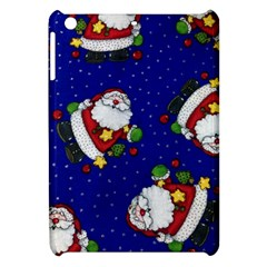 Blue Santas Clause Apple iPad Mini Hardshell Case by AnjaniArt
