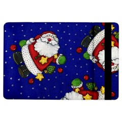 Blue Santas Clause Ipad Air Flip by AnjaniArt