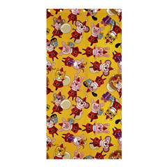 Bears Bunnies Goats Tigers Lions Pigs Gifts Texture Fun Shower Curtain 36  X 72  (stall)  by AnjaniArt