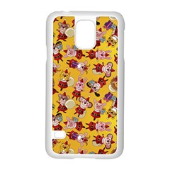 Bears Bunnies Goats Tigers Lions Pigs Gifts Texture Fun Samsung Galaxy S5 Case (white) by AnjaniArt