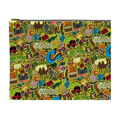 C Pattern Cosmetic Bag (xl) by AnjaniArt