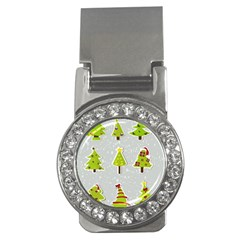 Christmas Elements Stickers Money Clips (cz)  by AnjaniArt