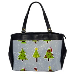 Christmas Elements Stickers Office Handbags by AnjaniArt