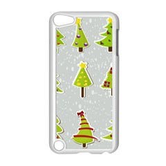 Christmas Elements Stickers Apple iPod Touch 5 Case (White) by AnjaniArt
