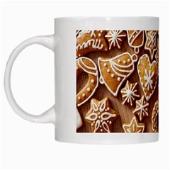 Christmas Cookies Bread White Mugs by AnjaniArt